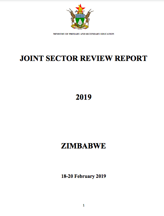 Zimbabwe Joint sector review